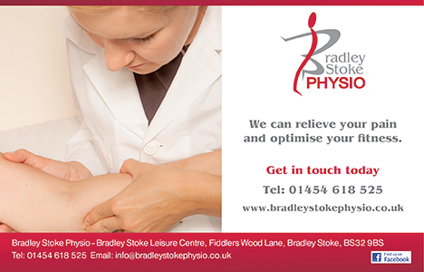 Bradley Stoke Physio - We can relieve your pain and optimise your fitness.
