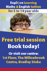 Explore Learning maths and English tuition, Bradley Stoke, Bristol.