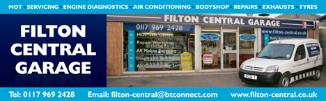 Filton Central Garage, Bristol, for MOTs, servicing and repairs.