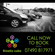 Kinetic Cabs: Private hire taxi service in north Bristol.