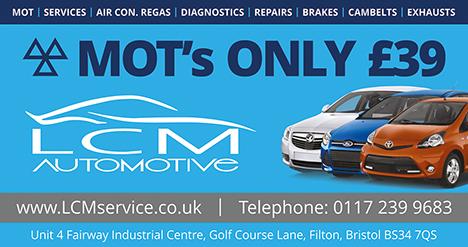 LCM Automotive & Service Centre, Filton, Bristol.