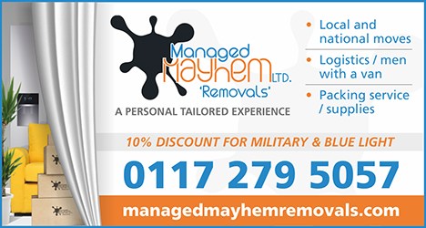 Managed Mayhem Removals, Bristol.