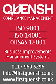 QUENSH, ISO Standards, Certification and Accreditation in Bristol, Gloucestershire and Oxfordshire.
