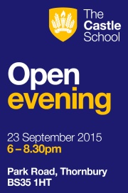 Open Evening at The Castle School, Thornbury.