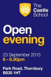 Open Evening at The Castle School, Thornbury.