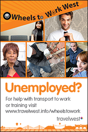 Wheels to Work: Help with transport to work or training.