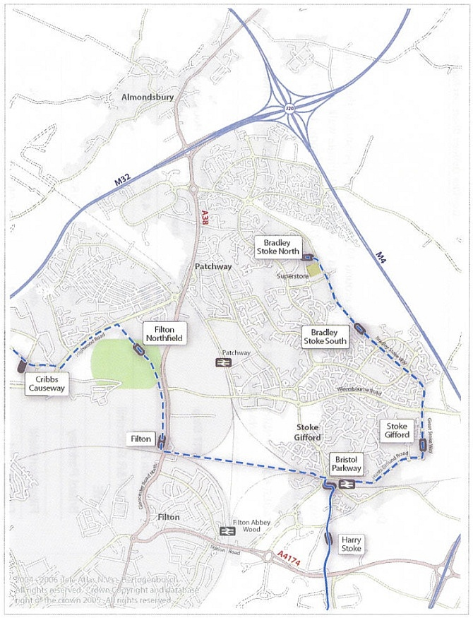 North Fringe Rapid Transport Scheme - Bradley Stoke