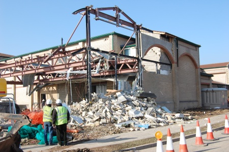 Demolition of Loading Bay