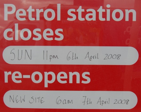 New Tesco Filling Station - Notice of Opening