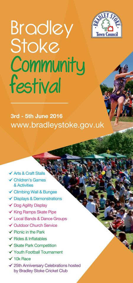 Bradley Stoke Community Festival 2016.