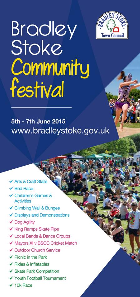 Bradley Stoke Community Festival 2015.