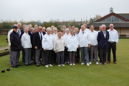 Members of the former Northavon Bowls Club