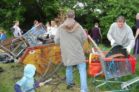 Pond Clearance at Jubilee Green