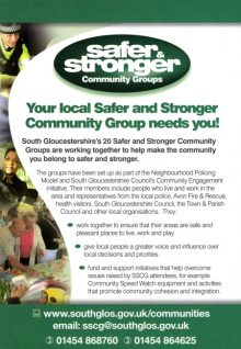 Bradley Stoke Safer and Stronger Community Group.