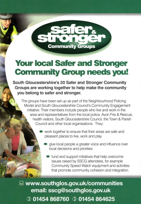 Bradley Stoke Safer and Stronger Community Group