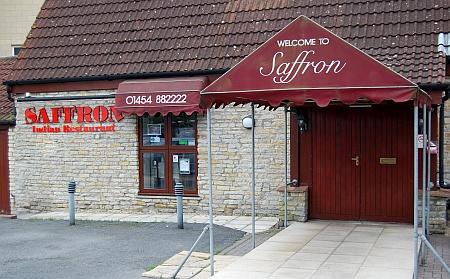 Saffron Indian Restaurant, Bradley Stoke, Bristol