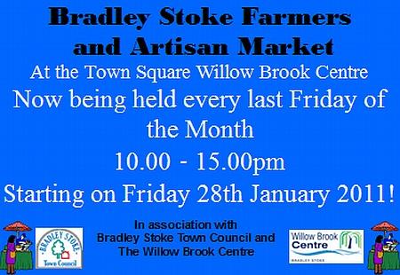 Farmers' Market, Bradley Stoke, Bristol.