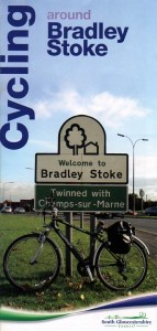 Cycling around Bradley Stoke.