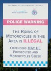Motorcycle Prohibition Notice