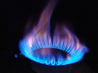 Gas flame [photo by Karen Eliot; licence CC BY-SA 2.0]