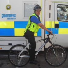 PCSO on Bike