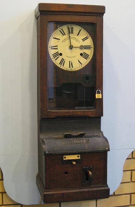Clocking-in machine