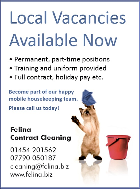 Cleaning jobs available now in Bristol