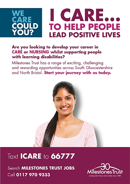 Milestones Trust care and nursing careers.