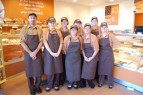 Staff at Greggs, Bradley Stoke