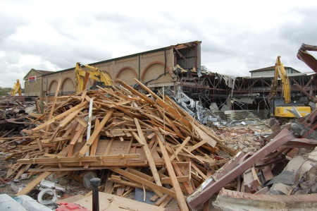 Tesco Demolition