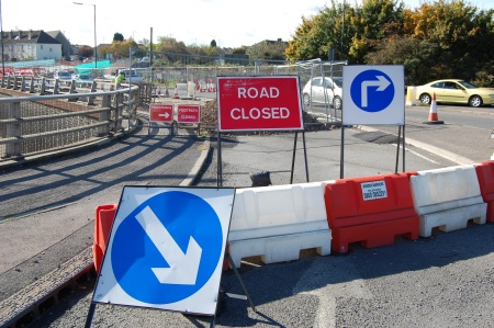 Patchway Railway Bridge Closure