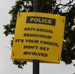 Anti-Social Behaviour Warning Notice