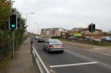 Pedestrian Crossing on Savages Wood Road