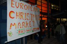BSCS European Christmas Market - Entrance