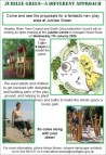 Jubilee Green Play Park Consultation Poster
