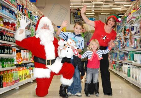 Santa at Tesco Extra