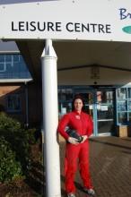 Sarah Churchill - Skydiver