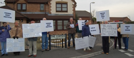 Anti-Porn Protest at The Coppice