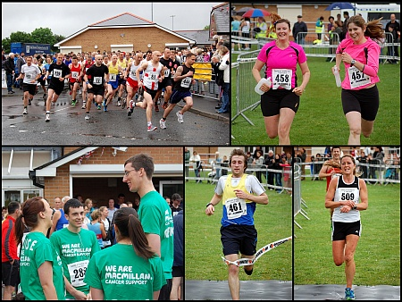 Bradley Stoke 10k Run 2012.
