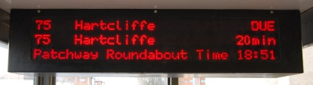 Real Time Bus Information Display