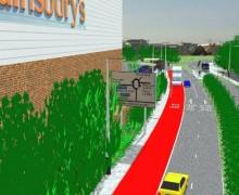 Proposed Bus Lane
