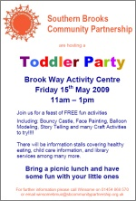 SBCP Toddler Party