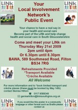 South Gloucestershire LINk Meeting