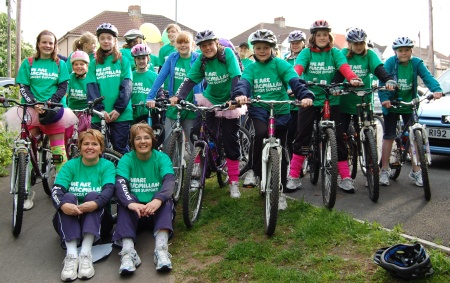 TJs Netball Club Bike Ride
