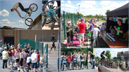 Bradley Stoke skate park competition