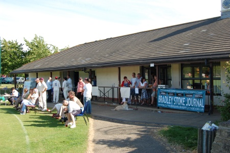 Journal Banner at Baileys Court Cricket Pavilion