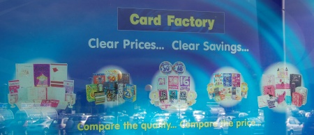 Card Factory Window