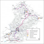 North Fringe to Hengrove Package - Route Map June 2011