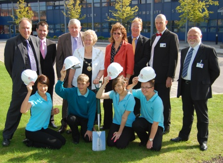 Sixth Form Turf Cutting Ceremony