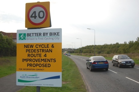 Cycling Consultation Sign